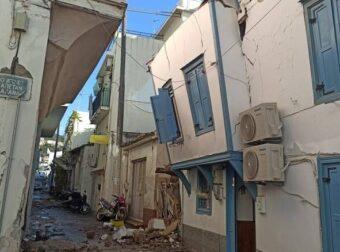 Σεισμός στη Σάμο: Νεκρά δύο παιδιά από τοίχο που κατέρρευσε