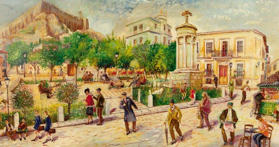 Γιώργος Σαββάκης: Ως νεώτερο μνημείο κηρύχθηκε η λαϊκή τέχνη του στις ταβέρνες της Πλάκας